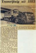 19680823 Tramrijtuig uit 1883.