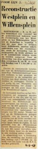 19680831 Reconstructie Westplein en WIllemsplein (RN)