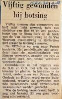 19680920 Vijftig gewonden bij botsing (NRC)