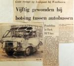 19680920 Vijftig gewonden bij botsing tussen autobussen