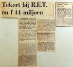 19681005 Tekort bij RET nu 44 miljoen