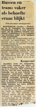 19681026 Bussen en trams vaker als behoefte eraan blijkt
