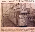 19681104 Laatste tramrit over Maasbruggen