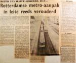 19681107 Rotterdamse metro-aanpak reeds verouderd (Havenloods)