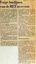 19681108 Enige RET buslijnen in revisie (NRC)