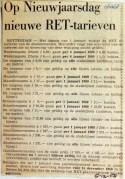 19681206 Op nieuwjaarsdag nieuwe RET tarieven