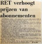 19681206 RET verhoogt prijzen abonnementen