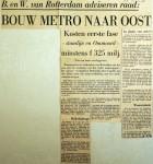 19681220 Bouw metro naar Oost