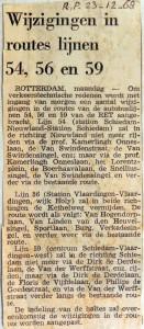 19681223 Wijzigingen routes 54, 56 en 59 (Parool)