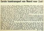 19690320 Eerste tramtransport van Noord naar Zuid