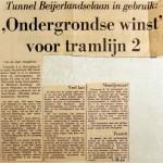 19690401 Ondergrondse winst voor tramlijn 2