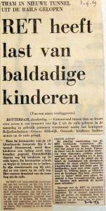 19690403 RET heeft last van baldadige kinderen