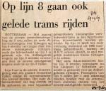 19690429 Op lijn 8 gaan ook gelede trams rijden (RN)