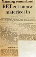 19690501 RET zet nieuw materieel in