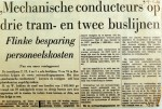 19690529 Mechanische conducteurs, flinke besparing