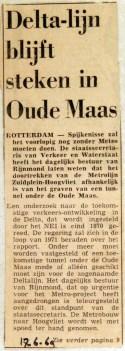19690617 Deltalijn blijft steken in Oude Maas
