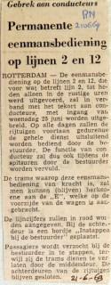 19690621 Permanente eenmansbediening lijnen 2 en 12 (RN)
