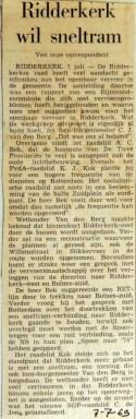 19690707 Ridderkerk wil sneltram