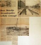 19690716 Bouw metrolijn Alexanderpolder wellicht vertraagd
