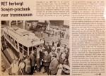 19690901 RET herbergt Sowjet-geschenk voor trammuseum