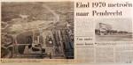 19690905 Eind 1970 metro naar Pendrecht