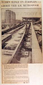 19700108 Spoor groeit tussen Zuidplein en Slinge