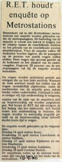 19700416 RET houdt enquete op metrostations