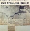 19700425 Start metro-aanleg Hoogvliet