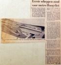 19700426 Eerste scheppen zand voor metro Hoogvliet