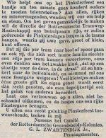 18950604 Sponsoring Pinksterfeest. (RN)