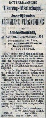 18960316 Aandeelhoudersvergadering. (RN)