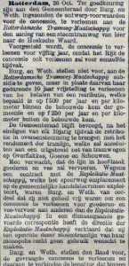 18961028 Voorwaarden concessie. (De Tijd)