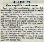 18970126 Ongeluk voorkomen. (De Tijd)