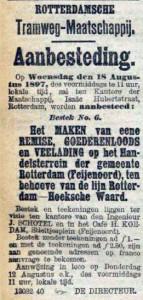 18970811 Aanbesteding. (RN)