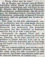 19010304 Vroeger rijden van tram. (RN)