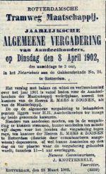 19020325 Aandeelhoudersvergadering. (AH)