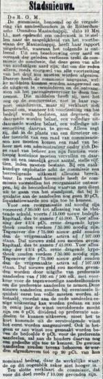 19020603 Einde ROM. (RN)