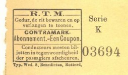 Gelijktijdig met de enekele reizen kregen de contramerken een modernere opmaak met tekstblokken in kast.