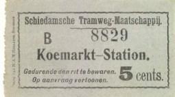 Het traject Koemarkt - Station was drukker dan het lijndeel naar het Hoofdplein. Door de beweegbare bruggen was de dienstuitvoering echter niet altijd regelmatig.