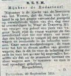19130923 Klacht. (RN)
