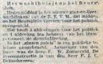 19141222 Wachthuisje opengesteld. (RN)