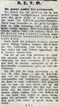 19160614 Geest onder personeel. (De Tribune)