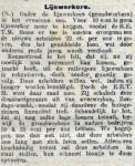 19160918 Lijnwerkers. (De Tribune)