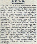 19160918 Remwerkers. (De Tribune)