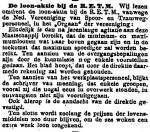 19161218 Loonaktie. (Het Volk)