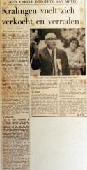 19700820 Kralingen voelt zich verkocht en verraden (De Tijd)