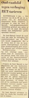 19701202 Tegen verhoging tarieven. (NRC)