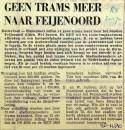 19701220 Geen trams meer naar Feijenoord (RN)