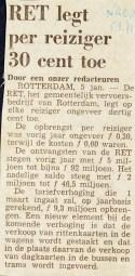 19710105 30 cent per reiziger. (NRC)