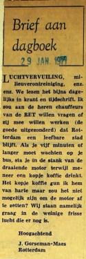 19710129 Brief aan dagboek.